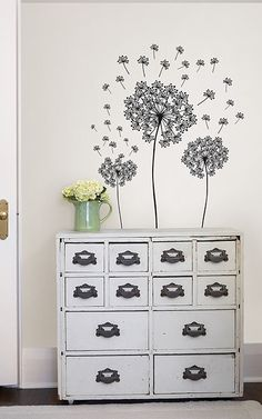 I usually don't like wall decals but this works for me