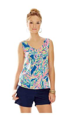 Check out this product from Lilly - GiGi V-Neck Tank Top http://www.lillypulitzer.com/product/new-arrivals/prints-under-100/gigi-v-neck-tank-top/pc/1/c/416/7485.uts