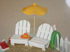 beach fondant cake - Google Search