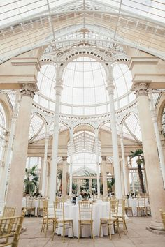Syon Park Orangery Reception - Hayley Savage Photography Botanical Syon Park London Wedding Etsy Wedding Dress The Clay Oven Catering Cheap Wedding Venues, Luxury Wedding Venues, Wedding Catering, Wedding Locations, Wedding Events, Wedding Reception Venues, Perfect Wedding, Dream Wedding, Summer Wedding