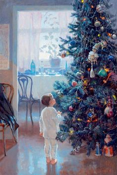 Christmas tree by Alexander Levchenko