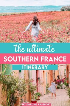The Best 1 Week Itinerary for the South of France. How to Spend one amazing week in Provence. | Provence Itinerary | One Week in the South of France | South of France Travel Guide | #provence