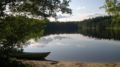 The beach of Northern Myllyjärvi (Espoo, Finland).