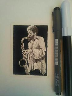 JAZZ MUSIC ACEO