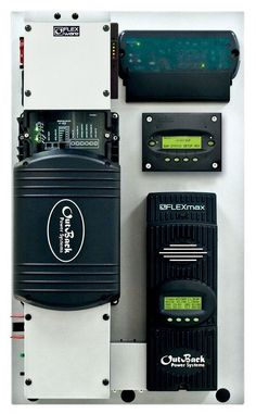 Outback FLEXpower System  Complete solar energy system already wired for you. need batteries, solar panels,  and that's it!