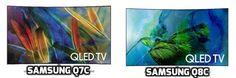 Samsung Q8C vs Q7C Review (QN55Q8C vs QN55Q7C, QN65Q8C vs QN65Q7C)