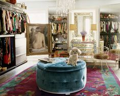 Nanette Lepore's Mirror-Filled Closet