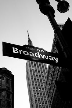 Broadway....I did at tap step there once so I could say I danced on Broadway! lol