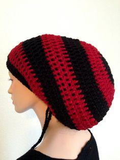 96cc1ecb15b Rasta Tam  Dread tam  Handmade Dreadlocks tam  Crochet Rasta Tam