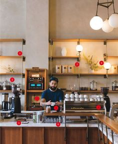No more oversize couches or eclectic mugs—today's #coffee bars take their vibe seriously. These are the 9 trends that define coffee shop design in 2014 #coffeeshopdesign