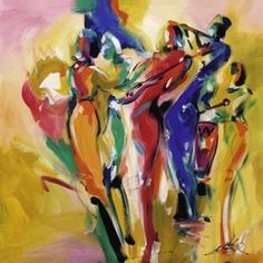 Jazz Explosion I poster print by Alfred Gockel - another J want