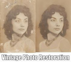 Photo repair will fix your scratched photos, washed out/faded pictures, ripped/torn photographs. http://www.fixingphotos.com #photoretouching #giftideas