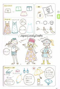 Ilustración temporada Kamo libro dibujo japonés Garabato