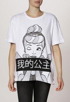 Eleven Paris - DENDRI - T-Shirt print - white