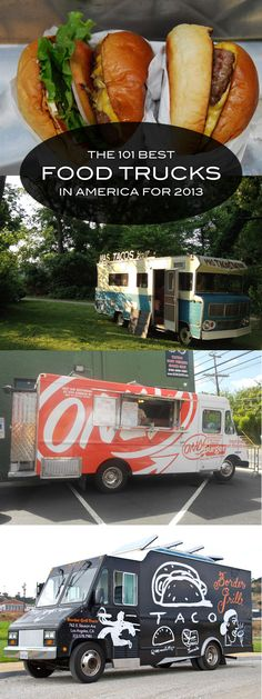 The Best Food Trucks in America! Is your favorite on the list?