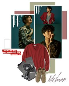 """""""2017.131 : Jung Il Woo"""" by oh-pororo ❤ liked on Polyvore featuring L.L.Bean, Lords of Harlech, Christian Louboutin, Lacoste, men's fashion, menswear, WMAGAZINE and jungilwoo"""