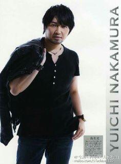 Nakamura Yuuichi-kun.... Tomokazu's BFFFF... or husband... something like that... ahahaha.. Happy B-day!!!