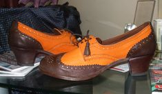 Hand made ladies 'ties' Large Womens Shoes, Lindy Hop, Frou Frou, Vintage Shoes, Preppy, Ties, Oxford Shoes, Footwear, History