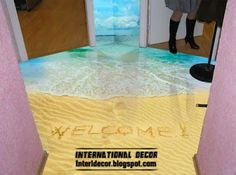 3D Floor Murals and 3D self leveling floor Unusual floor covering ideas 2014 Self Leveling & The 51 best Whacky \u0026 Unusual Flooring images on Pinterest | Diy ...