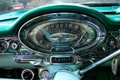 Vintage Cars 57 olds Retro Cars, Vintage Cars, Antique Cars, Cars Usa, Us Cars, Mustangs, Dashboard Car, Car Ornaments, American Classic Cars