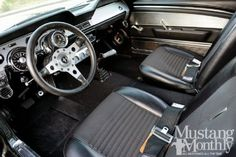 1967 Ford Mustang Fastback - Interior