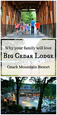 When we lived near Kansas City, our absolute favorite family get-away was the breath-taking Big Cedar Lodge. An Ozark mountain resort parked on Table Rock Lake just 10 miles south of Branson, Missour (Favorite Family) Vacation Trips, Dream Vacations, Vacation Spots, Vacation Ideas, Vacation Travel, Branson Vacation, Greece Vacation, Vacation Resorts, Weekend Trips