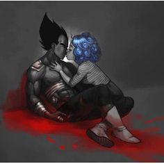 Thissss❤️❤️ She'll always be there for him,as he will for her ❤️ - #vegeta #bulma #vegetaandbulma #otp #anime #love #fanart #blessing #dragonballz #truelove