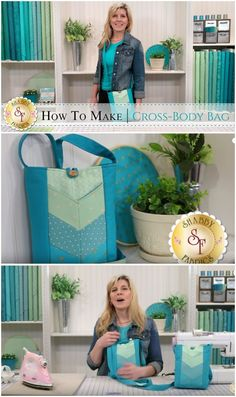 Cross Body Bag – video and free pattern Video tutorial on how to make this cross-body bag. Easier than I thought, I might sew this pattern for my first ever bag. Handbag Patterns, Bag Patterns To Sew, Sewing Patterns Free, Free Sewing, Sewing Tutorials, Bag Tutorials, Tutorial Sewing, Tutorial Crochet, Quilting Tutorials
