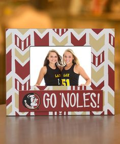 loving this florida state seminoles arrow frame on zulily zulilyfinds