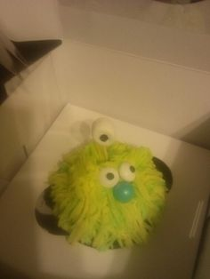 Pics from the party. Alien/monster cupcakes. Got the boxes on clearance from oriental trading. Easy and cheap.