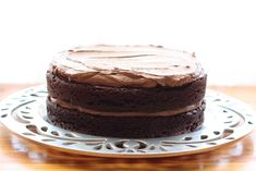 Unforgettable Chocolate Quinoa Cake Recipe -- I'm thinking of substituting Truvia to make this cake more low carb.