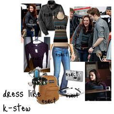 """""""Bella's Clothes New Moon"""" by malloryriley on Polyvore"""