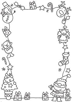 Letter to Santa Coloring Pages. 20 Letter to Santa Coloring Pages. Free Printable Christmas Coloring Pages with Jokes Preschool Christmas, Noel Christmas, Christmas Crafts For Kids, Christmas Activities, Xmas Crafts, Christmas Printables, Christmas Colors, Winter Christmas, Christmas List Template