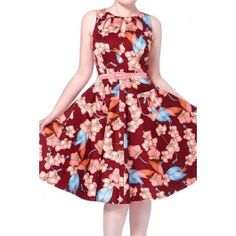Women's Winter Orchid Flare Dress