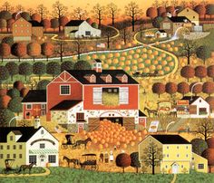 Butternut Farms by Charles Wysocki