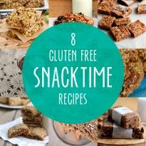 8 Recipes for  Gluten Free Snacking