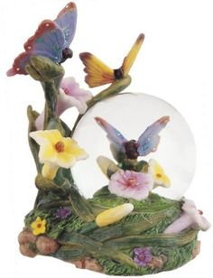 Snow Globe Butterfly Collection