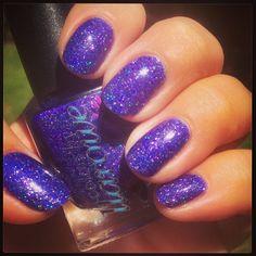 Purple is My Crack by naughtep on IG