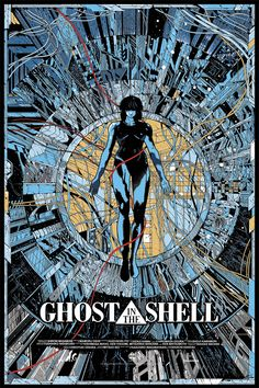 Ghost In The Shell Mondo Poster Reveal! Exclusive Ghost In The Shell Mondo Poster Reveal!Exclusive Ghost In The Shell Mondo Poster Reveal! Manga Anime, Comic Manga, Comic Art, Anime Naruto, Screen Print Poster, Poster Prints, Art Prints, Kilian Eng, Anime Ghost