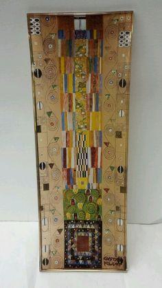 Art in my life on pinterest gustav klimt glass vase and - Glass art by artis ...