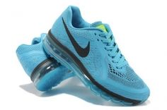 US$ 82.56  #www.shoes-jersey-sale.org#Cheap #Nike #Air #Max #2014 #Shoes #Sea #Blue #Black