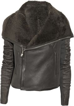 Rick Owens Classic shearling jacket