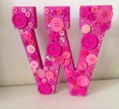 #buttons#letters#wooden any colour any letter £11.99