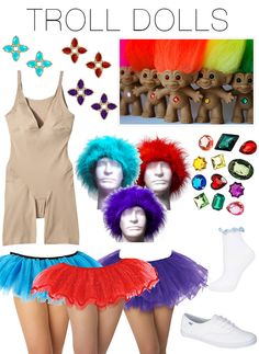 Halloween costumes for teachers Poppy from Trolls