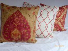 Decorative Linen Pillow Cover Iman Home by JulieButlerCreations, $27.00