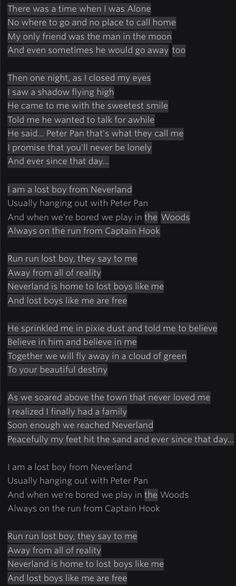 Ruth B Lost Boy lyrics probably my most favorite song right now