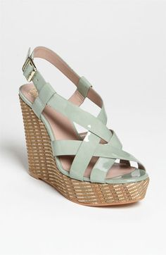 Vince Camuto Hattie Sandal in Light Green @ Nordstrom