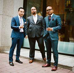 Toronto Street Fashion~ Garrison Bespoke ~ Men Suits