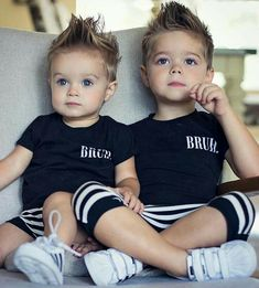 Baby Boy Swag Ideas Baby and Toddler Clothing and Accesories - March 09 2019 at Baby Boy Hairstyles, Toddler Boy Haircuts, Little Boy Haircuts, Toddler Boys, Baby Kids, Toddler Outfits, Baby Boy Outfits, Cute Kids, Cute Babies