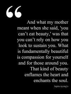That kind of beauty.